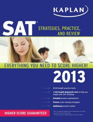 Free pdf download e books Kaplan SAT 2013 (English Edition) ePub MOBI 9781609787066