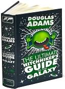The Ultimate Hitchhiker's Guide to the Galaxy (Barnes & Noble Leatherbound Classics) by Douglas Adams: Book Cover