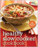 American Heart Association Healthy Slow Cooker Cookbook by American Heart Association: Book Cover