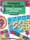 Developing Number Concepts, Book 1 by Kathy Richardson: Book Cover