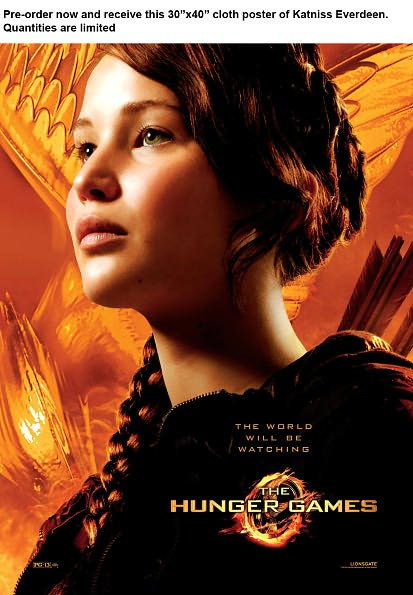 Hunger Games Pre-order...