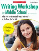 Writing Workshop in Middle School by Marilyn Pryle: Book Cover