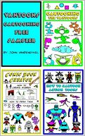 VanToons Cartooning Free Sampler by John VanDenEykel: NOOK Book Cover