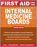 First Aid for the Internal Medicine Boards by Tao Le: NOOK Book Cover
