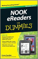 NOOK eReaders For Dummies by Corey Sandler: NOOK Book Cover