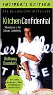 Kitchen Confidential, Insider's Edition by Anthony Bourdain: Book Cover