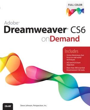 Free epub books downloads Adobe Dreamweaver CS6 on Demand in English 9780789749321  by Perspection Inc., Steve Johnson