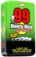 Ninty-Nine or Bust Card Game Tin by Legendary Games: Product Image