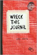 Wreck This Journal, Red (Expanded Ed.) by Keri Smith: Book Cover