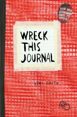 Wreck This Journal, Red