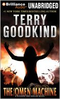 The Omen Machine by Terry Goodkind: CD Audiobook Cover