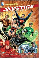 Justice League Volume 1 by Geoff Johns: NOOK Book Cover