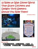 12 Rides at Walt Disney World That Scare Chickens and Delight Thrill Seekers by Barbara Nefer: NOOK Book Cover