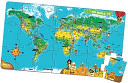 LeapFrog Tag World Map Jumbo Puzzle by LeapFrog: Product Image