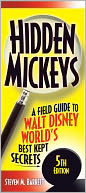 Hidden Mickeys by Steven Barrett: Book Cover