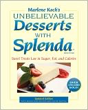 Marlene Koch's Unbelievable Desserts with Splenda Sweetener by Marlene Koch: NOOK Book Cover