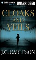 Cloaks and Veils by J. C. Carleson: CD Audiobook Cover
