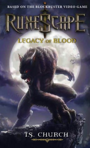 A book pdf free download RuneScape: Legacy of Blood English version DJVU ePub FB2 9780857687579