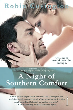 Entangled Publishing Book Review: A Night Of Southern Comfort by Robin Covington