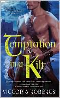Temptation in a Kilt by Victoria Roberts: Book Cover