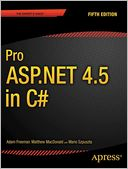 Pro ASP.NET 4.5 in C# by Adam Freeman: Book Cover