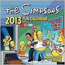 2013 Simpsons Fun Wall Calendar by Matt Groening, Matt: Calendar Cover