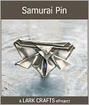 Samurai Pin eProject from Metal Clay Origami Jewelry (PagePerfect NOOK Book) by Sara Jayne Cole: NOOK Book Cover