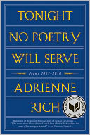 Tonight No Poetry Will Serve by Adrienne Rich: Book Cover