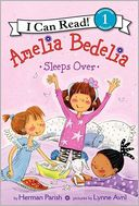 Amelia Bedelia Sleeps Over (I Can Read Book 1 Series), Vol. 1 by Herman Parish: Book Cover