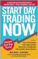 Start Day Trading Now by Michael Sincere: NOOK Book Cover