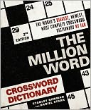 The Million Word Crossword Dictionary by Stanley Newman: Book Cover