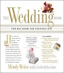 The Wedding Book by Mindy Weiss: Book Cover