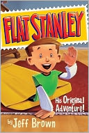 Flat Stanley by Jeff Brown: NOOK Book Cover