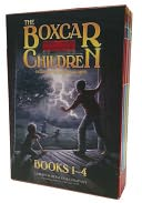The Boxcar Children Mysteries Boxed Set #1-4 by Gertrude Chandler Warner: Book Cover