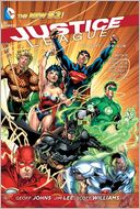 Justice League Volume 1 by Geoff Johns: Book Cover
