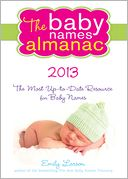 2013 Baby Names Almanac by Emily Larson: Book Cover