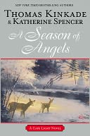 A Season of Angels by Thomas Kinkade: NOOK Book Cover