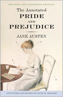 The Annotated Pride and Prejudice by Jane Austen: Book Cover