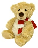 Winter Harrington Bear 10 Inch Plush by Aurora World: Product Image