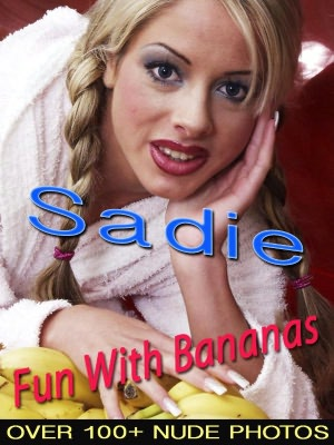 Sadie - Fun With Bananas (Nude Women Photos). nookbook