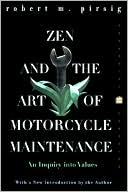 Zen and the Art of Motorcycle Maintenance by Robert M. Pirsig: Book Cover