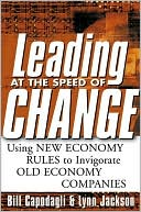Leading at the Speed of Change by Bill Capodagli: Book Cover