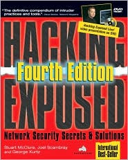 Hacking Exposed by Stuart McClure: Book Cover