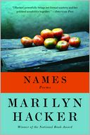 Names by Marilyn Hacker: Book Cover