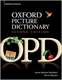 Oxford Picture Dictionary Monolingual English by Jayme Adelson-Goldstein: Book Cover