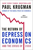The Return of Depression Economics and the Crisis of 2008 by Paul Krugman: Book Cover