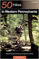 50 Hikes in Western Pennsylvania by Tom Thwaites: Book Cover