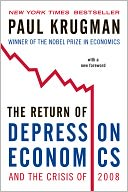 The Return of Depression Economics and the Crisis of 2008 by Paul Krugman: NOOK Book Cover
