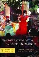 Norton Anthology of Western Music, Vol. 2 by J. Peter Burkholder: Book Cover