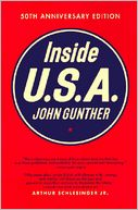 Inside U. S. A by John Gunther: Book Cover